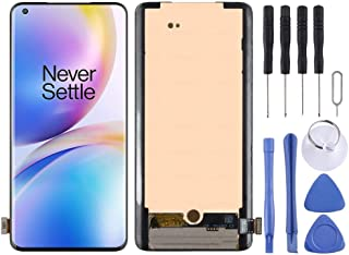 SHUHAN LCD Screen Phone Repair Part AMOLED Material LCD Screen and Digitizer Full Assembly for OnePlus 8 Pro Mobile Phone ...