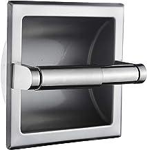 Top Taste Brushed Nickel Recessed Toilet Paper Holder Wall Toilet Paper Holder,Modern Style Recessed Tissue Roll Dispenser...