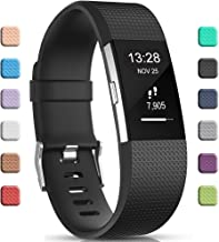 Gogoings Correa para Fitbit Charge 2 Pulsera Ajustable Correa de Reemplazo Deportivo Compatible con Fitbit Charge2 para Mujeres Hombres (Sin Reloj)