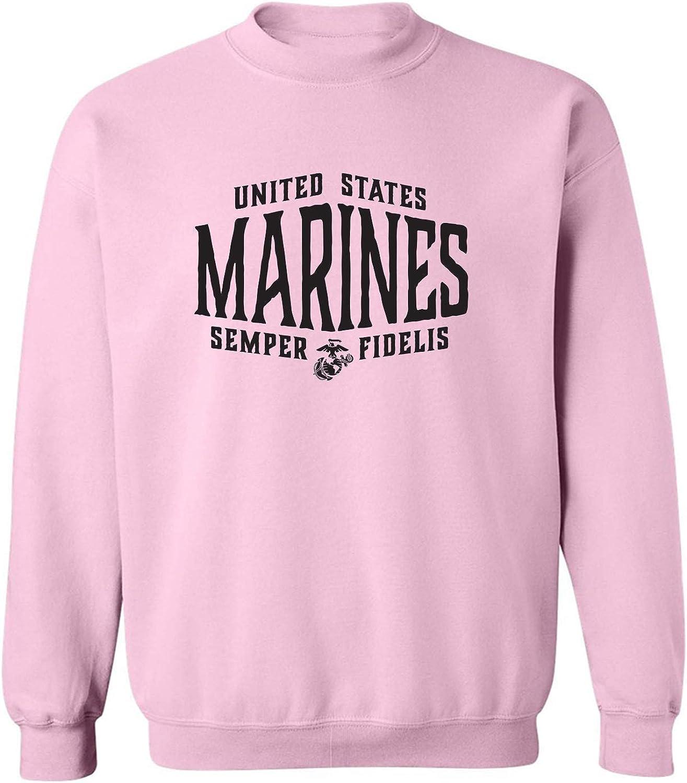 zerogravitee U.S. Marines Semper Fidelis Crewneck Sweatshirt