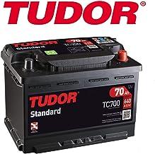 BATERIA TUDOR 70AH / 640A (EN) +D GAMA STANDARD 2 AÑOS DE