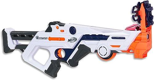 NERF - Laser Ops - Deltaburst Blaster - The Ultimate Electronic Laser Game - Blaster & Armband - Kids Toys & Outdoor ...