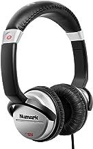 Numark HF125 | هدفون های DJ حرفه ای بر روی گوش با 6 سیم نادر مقاوم