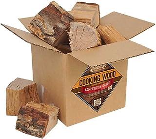 Smoak Firewood Cooking Wood Chunks - USDA Certified Kiln Dried (White Oak, 8-10 lbs)