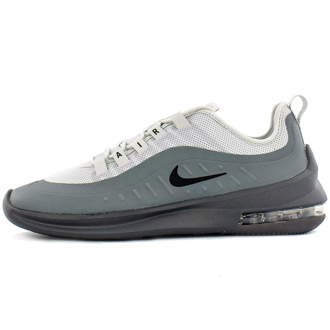 Nike Men's Air Max Axis Pure Platinum/Black/Dark Grey Size 11.5 M US