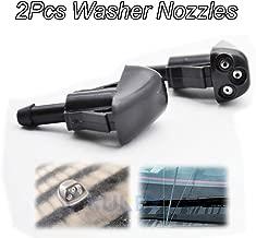 Xukey 2PCS/Set Front Windshield Wiper Water Washer Jet Nozzle For Hyundai Santa Fe Sonata Tiburon Elantra Coupe For Kia Rio