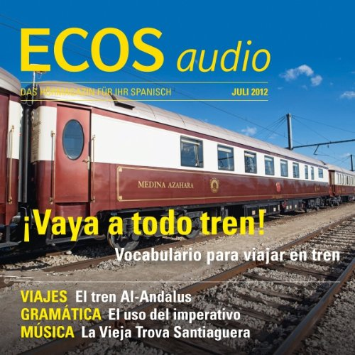 ECOS audio - Vocabulario para viajar en tren. 7/2012 Titelbild