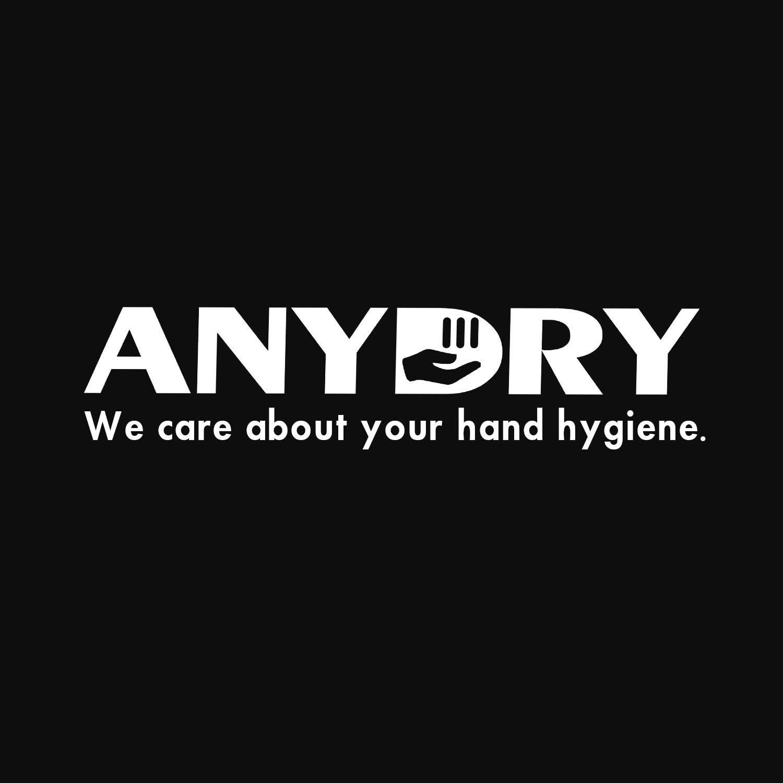 anydry AD2803D Mini Elektrischer H/ändetrockner,Wand-H/ändetrockner,Automatischer H/ändetrockner,Hygienisch und sehr platzsparend.Edelstahlgeh/äuse.1150W. Polieren