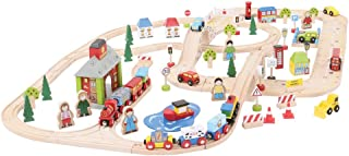 Bigjigs Rail City Road and Railway Set