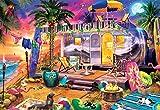 Buffalo Games - Beach Holiday - 2000 Piece Jigsaw Puzzle