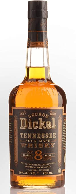 George Dickel No. 8 Tennessee Whisky 1L 1000mL