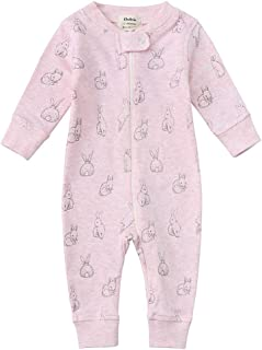 Owlivia Organic Cotton Baby Boy Girl Zip up Sleep N Play,...