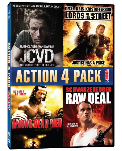 Action 4 Pack - Volume 1 (JCVD / Lords Of The Street / Among Dead Men / Raw Deal)
