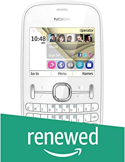 (Renewed) Nokia Asha 201 (White)