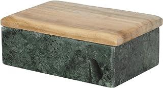 北欧 スウェーデン ストレームシャガ 木蓋付 マーブル 小物入れ M 126125