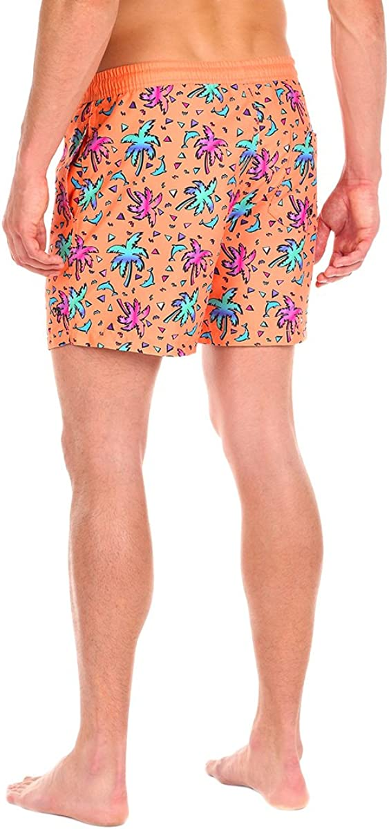 Retro Style Summer Swim Suits for Men Cabana Bro Mens Swim Trunks