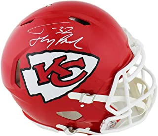 Tyrann Mathieu Autographed/Signed Kansas City Chiefs Speed Authentic NFL Helmet with