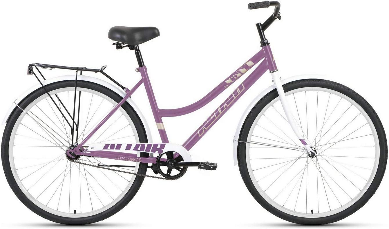 Bike ALTAIR City Ranking TOP4 28 Nashville-Davidson Mall Low 2021 Purple White Size Colour 19