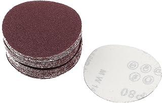Aexit 8 Dia Abrasive Wheels /& Discs Polishing Round Abrasive Sanding Sandpaper Sheet Disc 2000 Grit Flap Wheels 10 Pcs