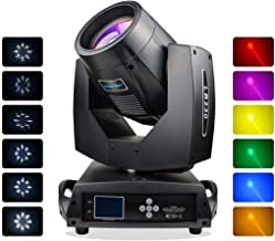 Moving Head Spot Beam Light with Touch Screen,500W DJ Stage Lighting Sound Activated,Master-slave, Auto Running for Concert,Variety Show,Auditorium,Nigh Clubs and other Large Performance Places