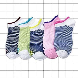 BAIJINGTING, BAIJINGTING 1 Juego 4/5 Pares de Calcetines para Mujer, Calcetines de Corte bajo, sin espectáculo, para Mujer, Zapatillas de algodón Kawaii