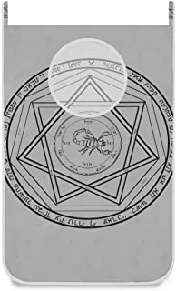 Panier à linge suspendu Sac à linge Supernatural Demon Devil 's Door / Wall / Closet Hanging Grand sac à linge Panier pour...