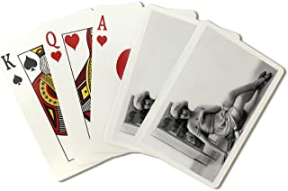 Pin-Up Girl by Dresser (Playing Card Deck - 52 Card Poker Size with Jokers)