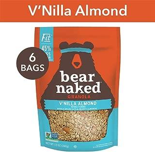 Bear Naked Vanilla Almond Fit Granola - Non-GMO, Kosher, Vegan - 12 Oz (Pack of 6)