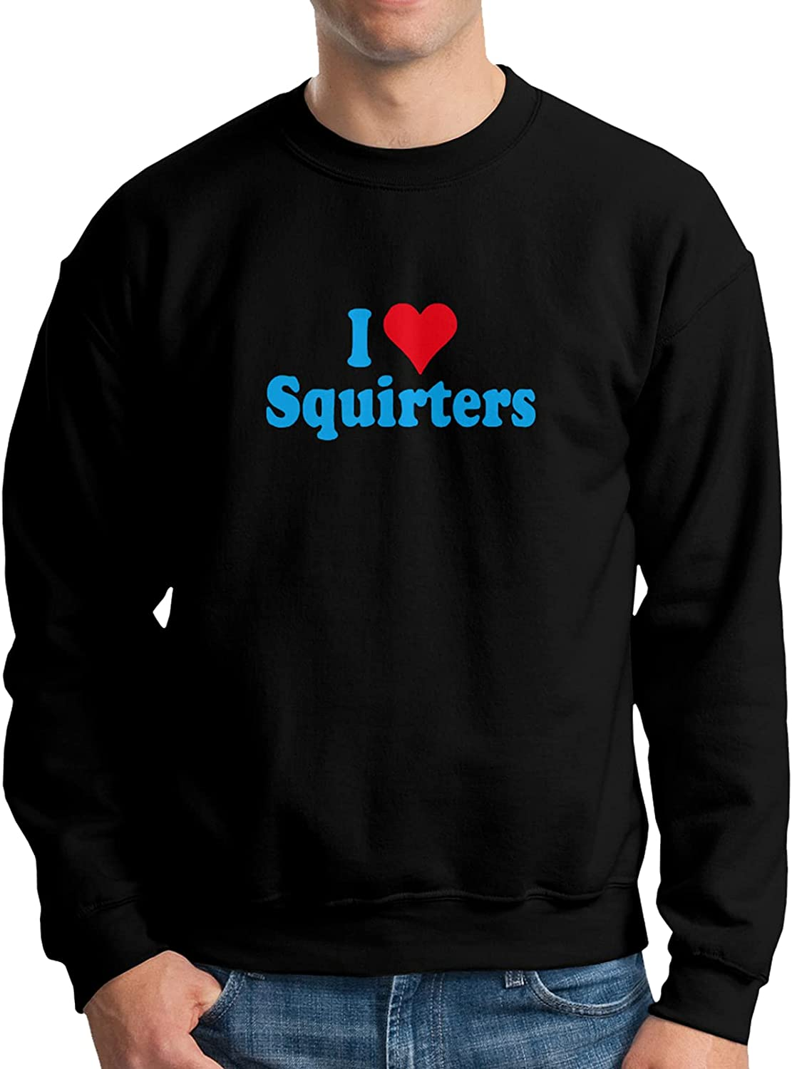 I Love Squirters Torso 2021 Silhouette Sweatshirt Sl Sports Mens Long Limited Special Price