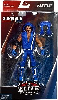 WWE AJ Styles Elite Survivor Series 2018 Mattel Toy Wrestling Action Figure