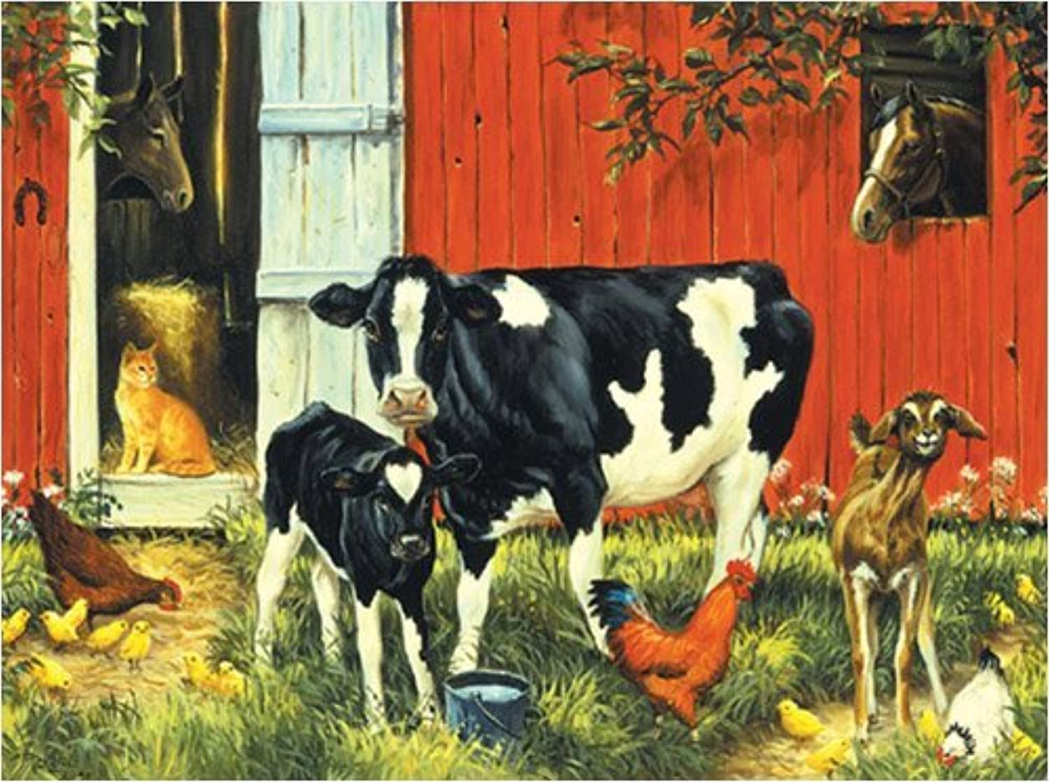 Old MacDonald Jigsaw Puzzle 1000pc by SunsOut