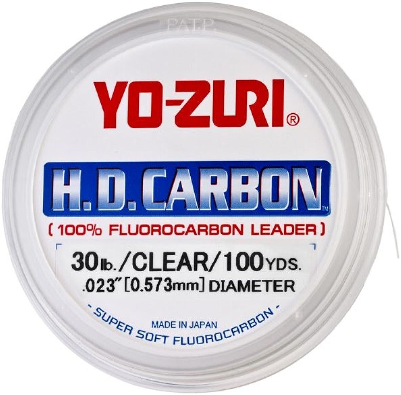 Yo-Zuri H.-D. H.-D. H.-D. Carbon FluGoldcarbon Leader Line B004TLXVUC  Ästhetisches Aussehen da0046