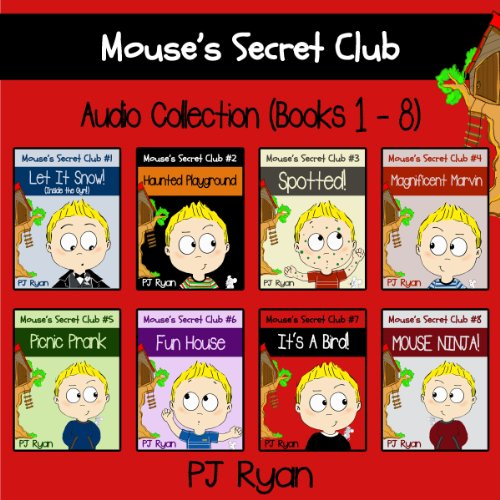 Mouse's Secret Club Books 1-8 audiobook cover art