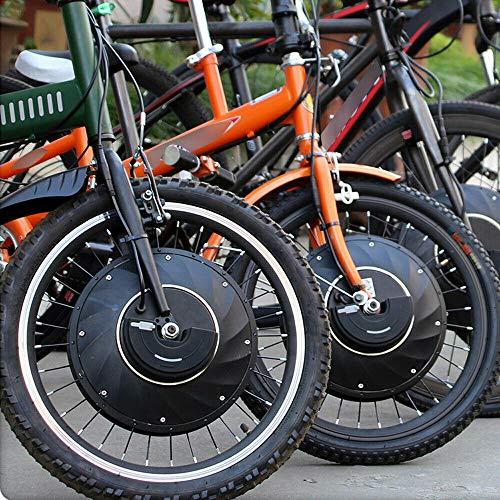 YiWon 20/24/26Zoll Elektrisches Fahrrad-Umbausatz Vorderrad E-Bike Conversion Kit (26 Zoll)