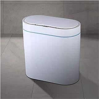 trash can kitchen يمكن أن تضييق القمامة التلقائي القمامة المطبخ القمامة للماء ماء الحمام مغطاة يمكن 2.1 جالون يمكن أن تكون...