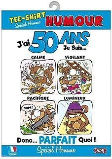 Amazonfr Cadeau 50 Ans Humour Vêtements