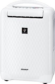 SHARP 「冷風・衣類乾燥」除湿機 「高濃度プラズマクラスターイオン搭載」 ホワイト系 CV-Z100-W