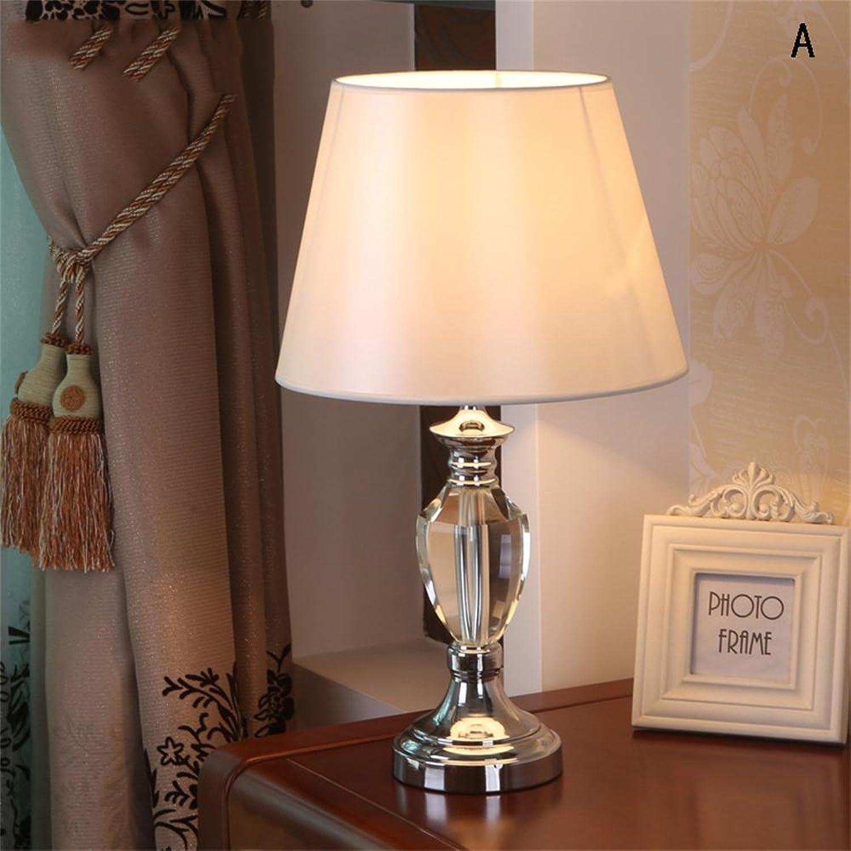 TOYM- Postmodern Fashion Einfache Kristall Schlafzimmer Nachttisch Lampe Wohnzimmer Lampen ( Farbe   A ) B0727P7BM9 | Spielzeugwelt, spielen Sie Ihre eigene Welt