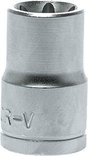 Teng Tools E12 1/2 Inch Drive Female External E-Torx (Star) Bit Socket - M120712-C