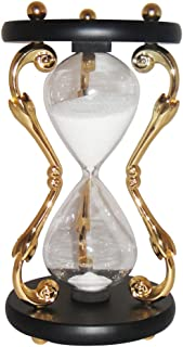 VStoy Fashion Hour glass 10 Minutes Sand Timer-Gold