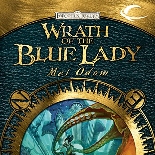 Wrath of the Blue Lady audiobook cover art