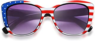 FEISEDY Polarized Vintage Sunglasses American Square...