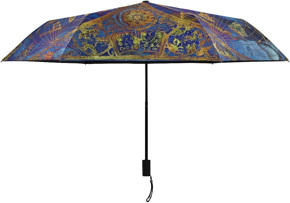 Ancient Rome Navigation Map Sale item Parasol Umbrella Open 2021 Compact Manual
