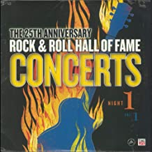 THE 25th ANNIVERSARY ROCK & ROLL HALL OF FAME CONCERTS Night 1 2018 BARNES & NOBLE Exclusive THE 25th ANNIVERSARY ROCK & ROLL HALL OF FAME CONCERTS Night 1 2018 BARNES & NOBLE Exclusive