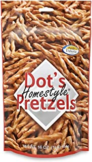 Dot's Homestyle Pretzels 1 lb. Bag (2 Bags) 16 oz. Seasoned Pretzel Snack Sticks (Packaging May Vary)