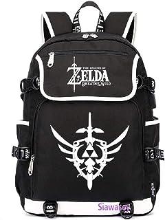 Anime The Legend of Zelda - Mochila para cosplay con puerto de carga USB
