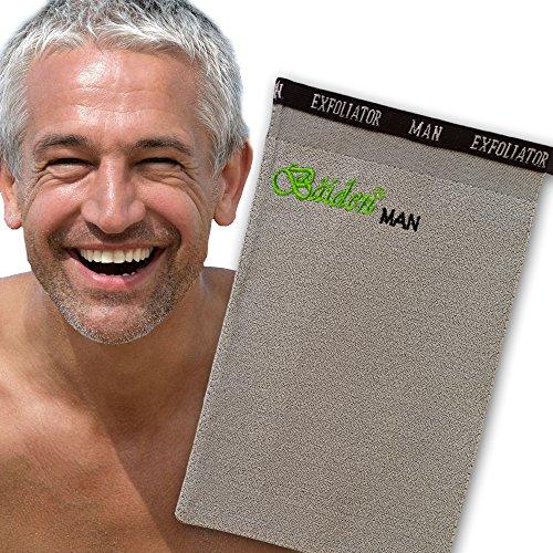 Baiden Mitten for Men-Advanced Skin Exfoliation...