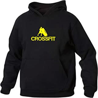 Uomo Felpa con Cappuccio Crossfit 2 Art T-shirt