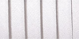 Wrights 117-201-030 Fita de viés dupla dobrável, branca, 3,8 m