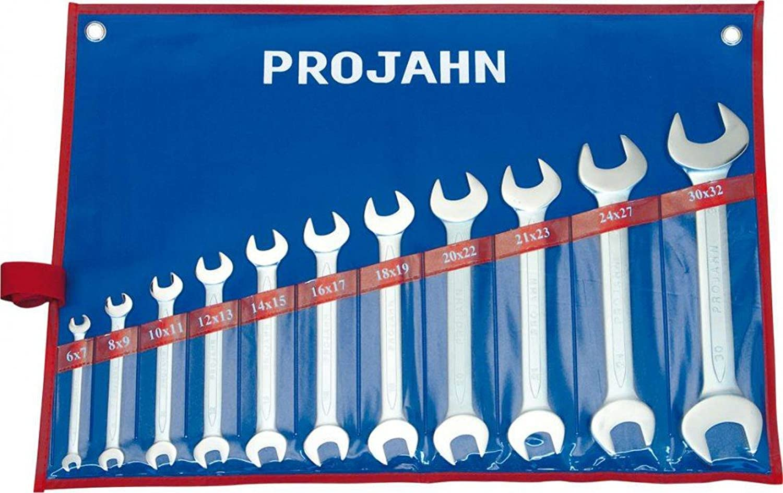Projahn Doppelgabelschlüssel Set 11-teilig 4411 B0065ULFXU | Innovation